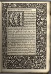 Kelmscott Press - The Nature of Gothic by John Ruskin (first page) {JPEG}