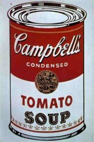 Andy Warhol - Campbell tomato soup - 1962
