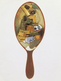 Kurts Schwitterz - Untitled (Assemblage on Hand Mirror) - 1920.22 - (...)