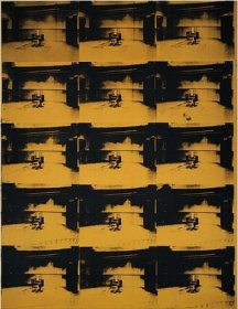 Andy Warhol - Electric Chair - Orange Disaster #5 - 1963