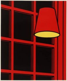Patrick Caulfield - Interior Night - 1970-71 - 71x58,5cm