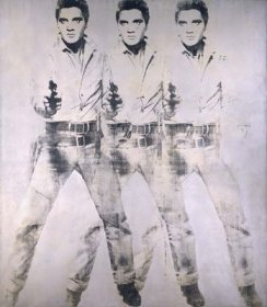 Andy Warhol - triple Elvis -1963