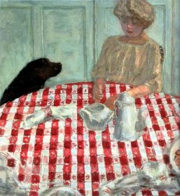 Bonnard - nappe à carreaux - 1910