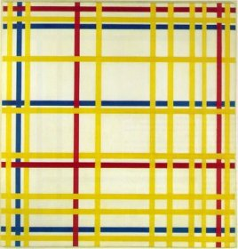 Mondrian - New York City I - 1942 - 119,3x114,2cm