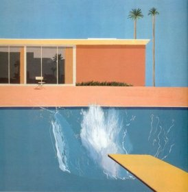 David Hockney - A Bigger Splash - 1967