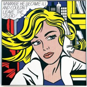 Roy Lichtenstein - M-Maybe - 1965 - 152,5x152,5cm