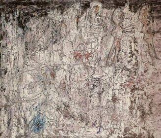 Jean Dubuffet - Paysage à l'auto - Série des pâtes battues - (...)