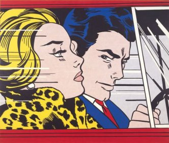 Roy Lichtenstein - In the car - 1963 - 172x203,5cm