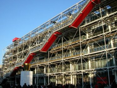 techno-architecture - renzo piano et richard rogers - centre georges (...)
