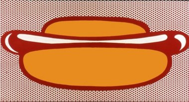 Roy Lichtenstein - Hot Dog - 1963 - 50,8x91,4cm