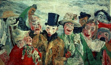 James Ensor - L'intrigue -1890