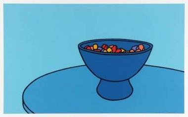 Patrick Caulfield - Sweet Bowl - 1967 - 55,9x91,4cm
