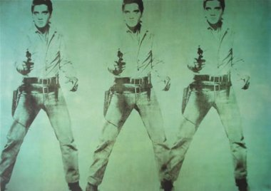 Andy Warhol - Triple Elvis - 1962 - 208,3x299,7cm