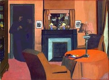 Félix Vallotton - La Chambre rouge - 1898
