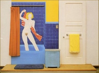 Tom Wesselmann - Bathtube n°3 - 1963
